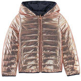 IKKS Girls Gold Reversible Puffer Jacket