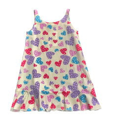 Esme Heart Print Night Gown Pajama