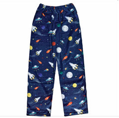 Iscream Boys Outer Space Plush Pajama Pants