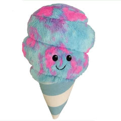 Iscream Plush Cotton Candy Pillow