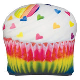 Iscream scented pillow heart sprinkle cupcake
