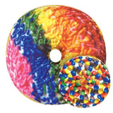 Iscream rainbow sprinkle donut scented pillow