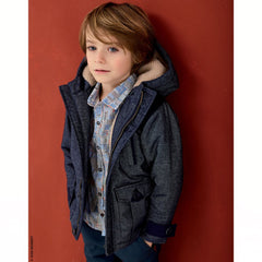Jean Bourget Boys Dress Shirt