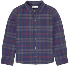 Jean Bourget Boys Plaid Dress SHirt