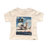 Kid Dangerous Boys Graphic T Shirt Zoo Pirates