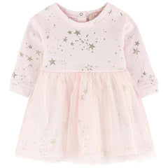 Lili Gaufrette Girls Pink Tutu Dress