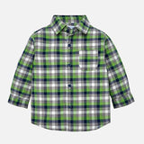 Mayoral Boys Green Plaid