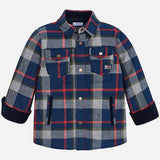 Mayoral Boys Plaid Shirt Jacket