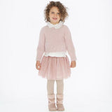 Mayoral Girls Stretch Pink Tutu Skirt