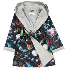 Molo Boys Graphic Bathrobe Half Off