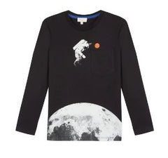 Paul Smith Boys Astronaut Basketball Graphic T