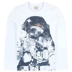 Boys Paul Smith Astronaut t shirt