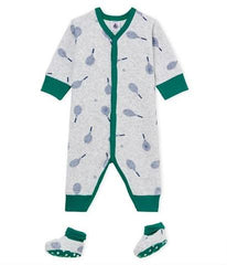 Petit Bateau Boys Plush Onesies on sale
