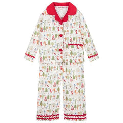 Powell Craft Classic Girls Pajamas Little Red