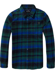 Scotch & Soda Boys Plaid