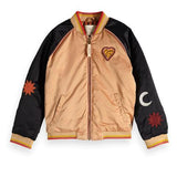 Scotch & Soda Gold Bomber Jacket