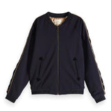 Scotch & Soda Navy Bomber Jacket Star