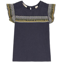 Scotch and Soda R'belle girls embroidered summer t shirt sale