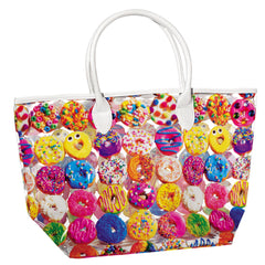 IScream Donut Graphic Tote Bag
