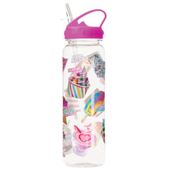 Ice Cream Frozen Treats BPA Free Water Bottle