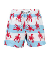 Snapperrock Baby Boy Swim Trunks Red Lobster