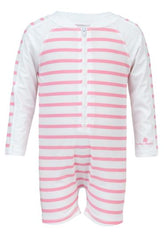 Snapperrock Baby Girl Sun Protection Sunsuit