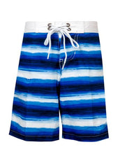Snapperrock Boys Drawstring Swim Trunks Blue