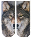 Wolf Grahpic Socks