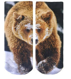 Bear Graphic Socks