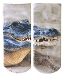 Crocodile Graphic Socks