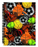 Iscream boys journals 50% off clearance sale graffiti sports