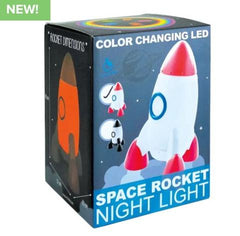 Iscream boys rocket night light