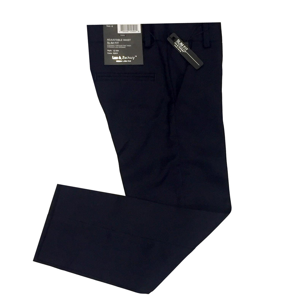 Leo & Zachary Navy Dress Pants