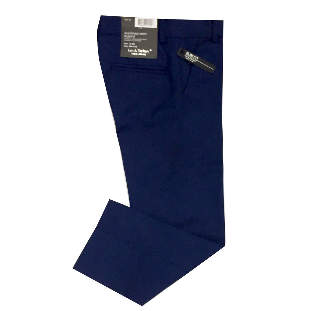 Leo & Zachary Blue Dress Pants