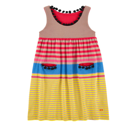 Rykiel Enfant Striped Dress 44276421