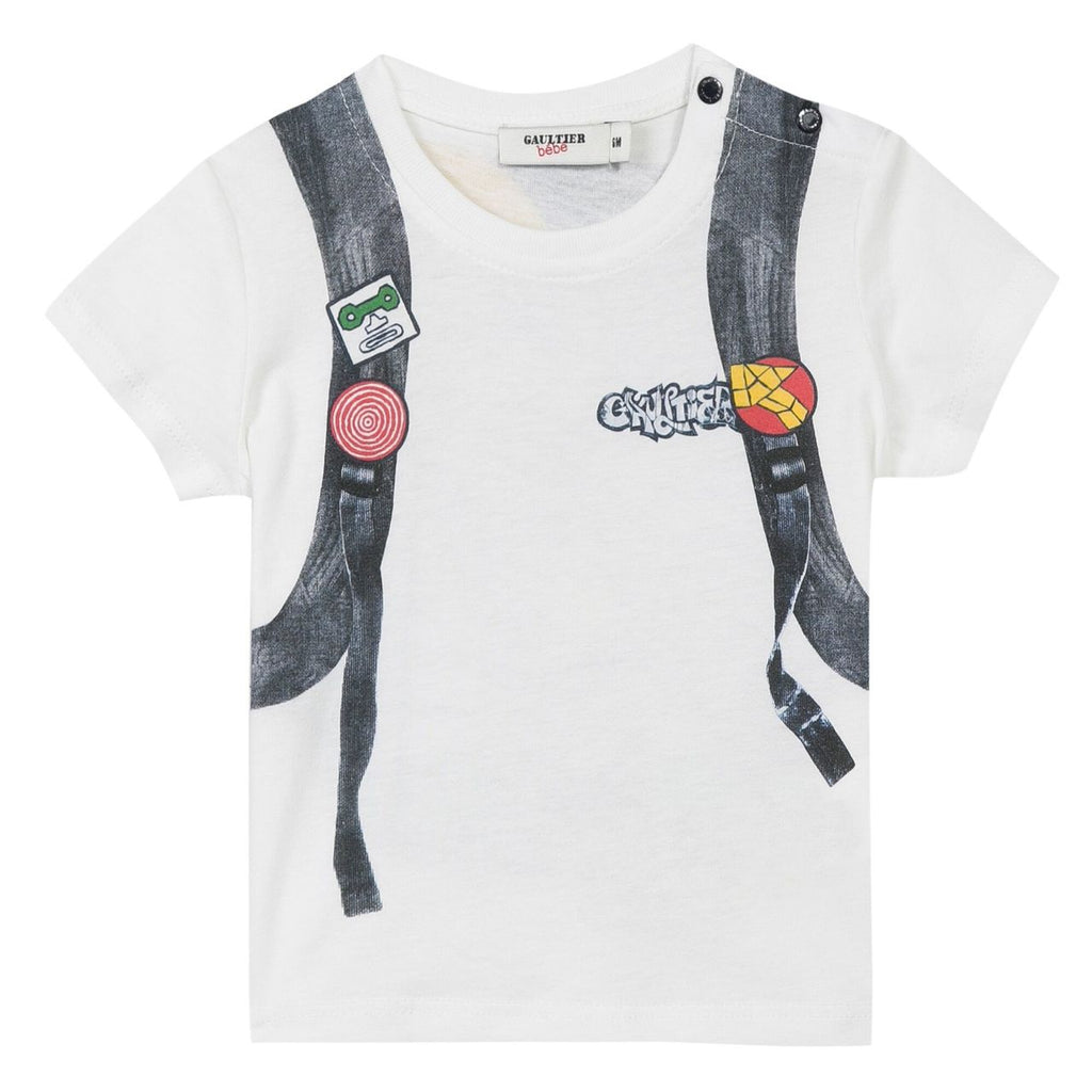 Junior Gaultier Vao Tee 5J10564
