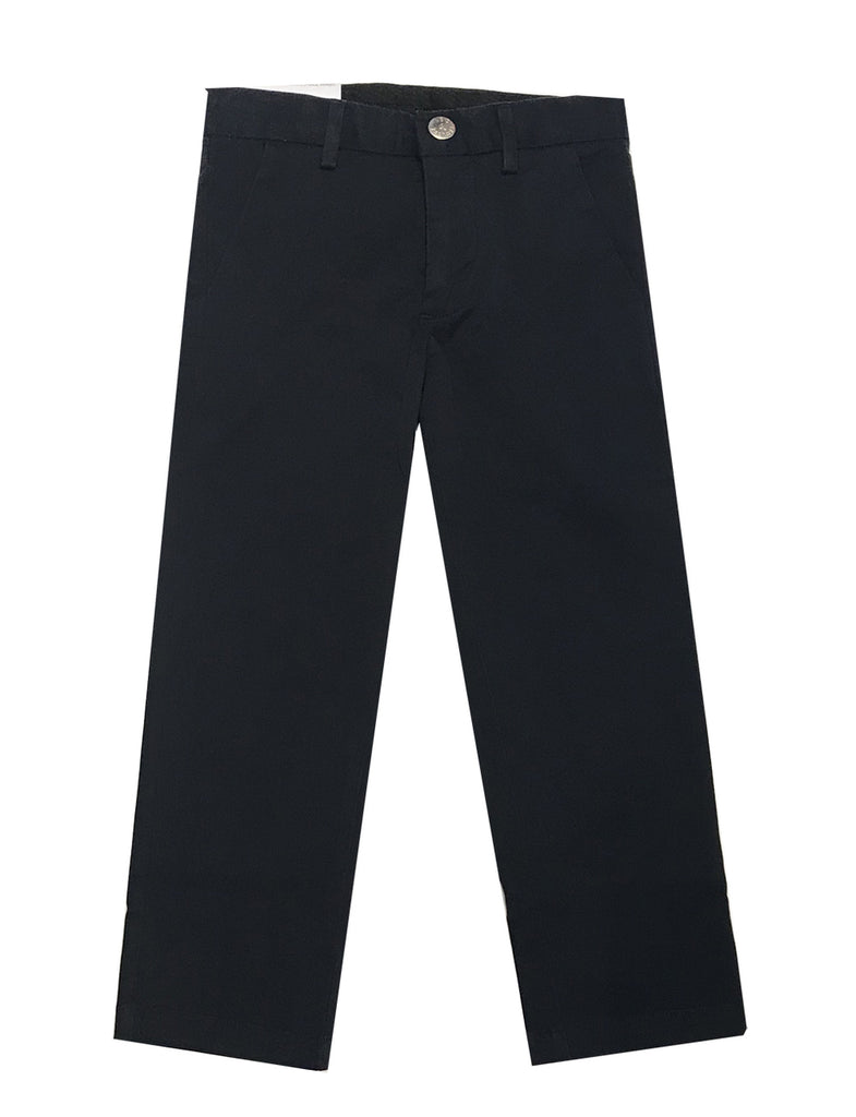 Leo & Zachary Navy Twill Pants