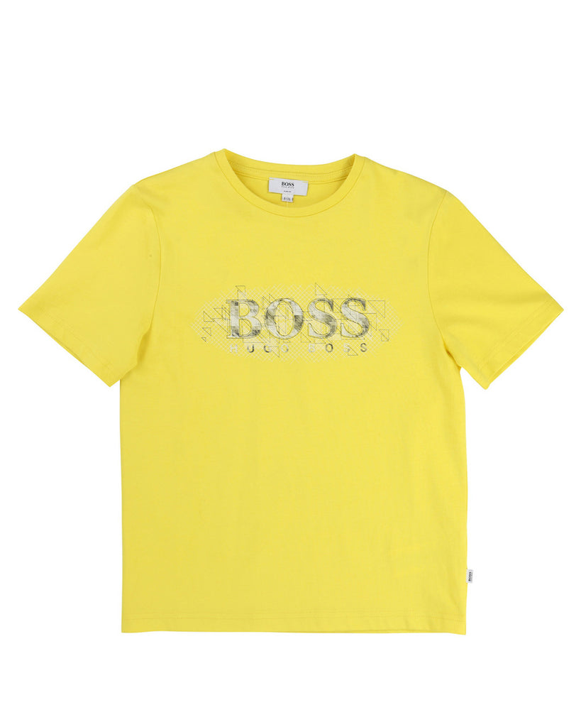 BOSS Yellow Logo Tee
