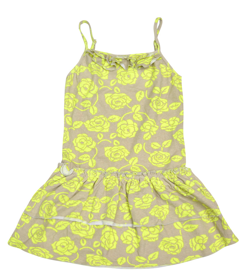 De Salitto Yellow Rose Dress