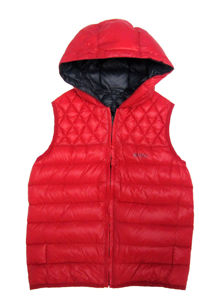 BOSS Reversible Down Vest j26204