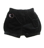 Catimini Black Velvet Shorts
