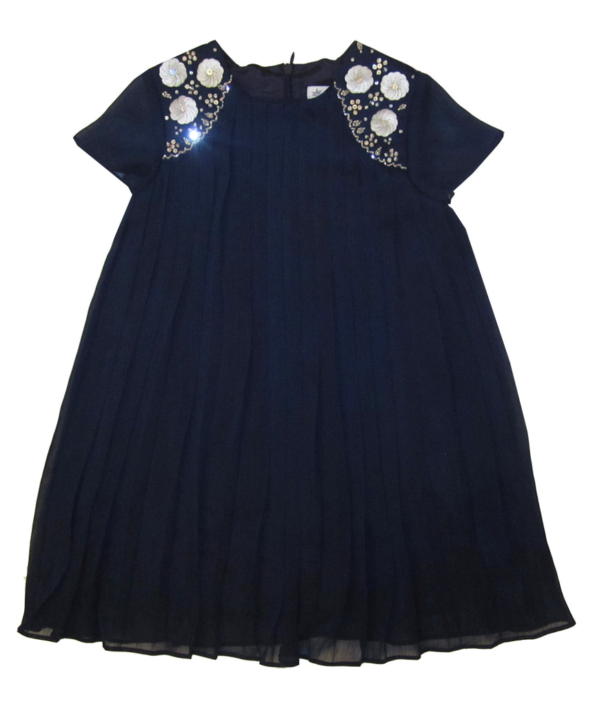 Charabia Navy Dress pi55a
