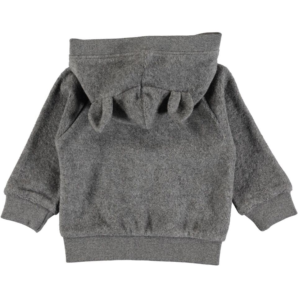 MOLO Ummi Grey Fleece Jacket