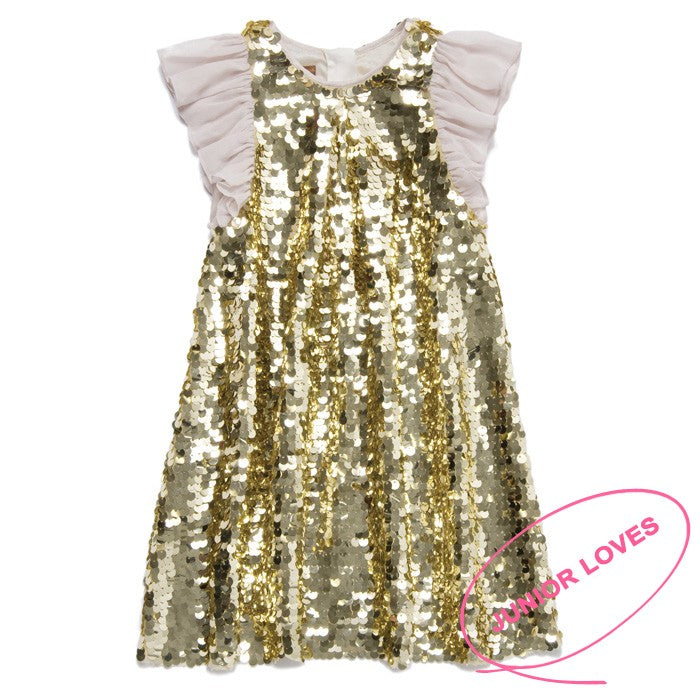 I Love Gorgeous Disco Ball Dress