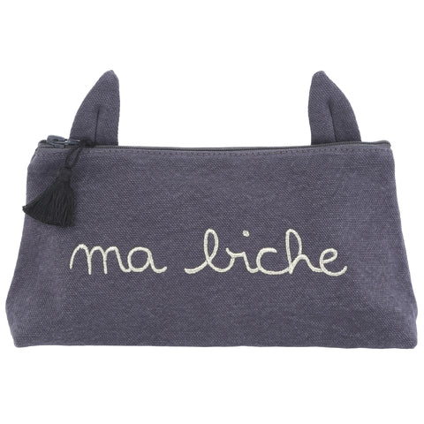 Emile et Ida Pencil Case Lapin-Abysse