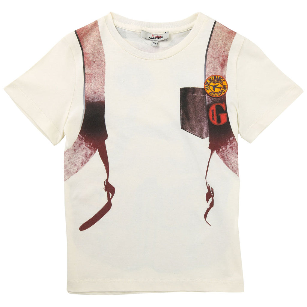 Junior Gaultier Tee 5f10524