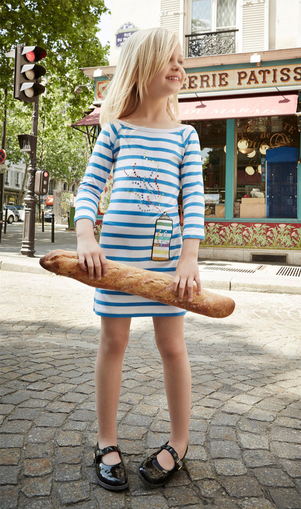 Rykiel Enfant Striped Dress 41256425-20
