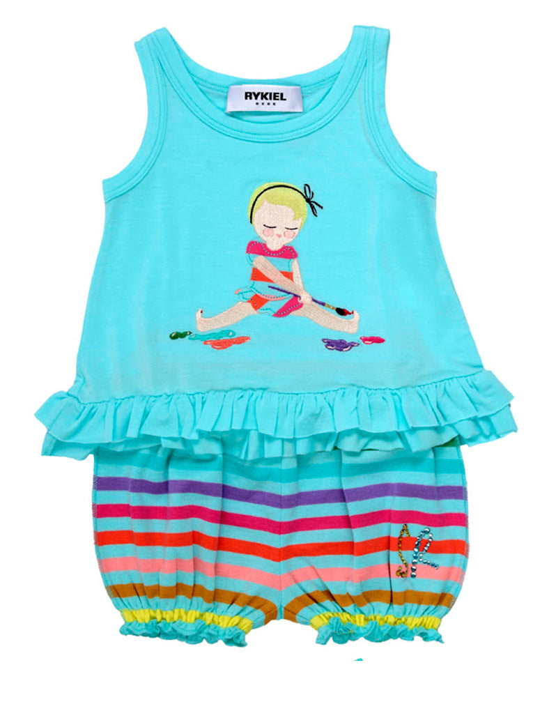 Rykiel Enfant Tunic & Bloomer Set