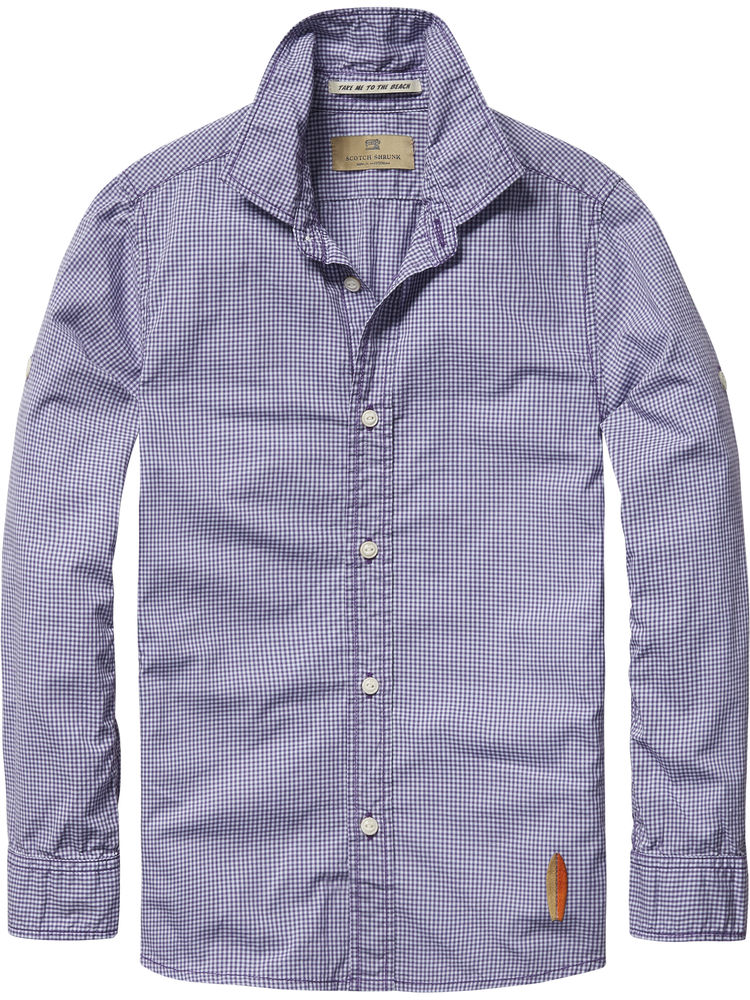 Scotch Shrunk Check Shirt 20500-c