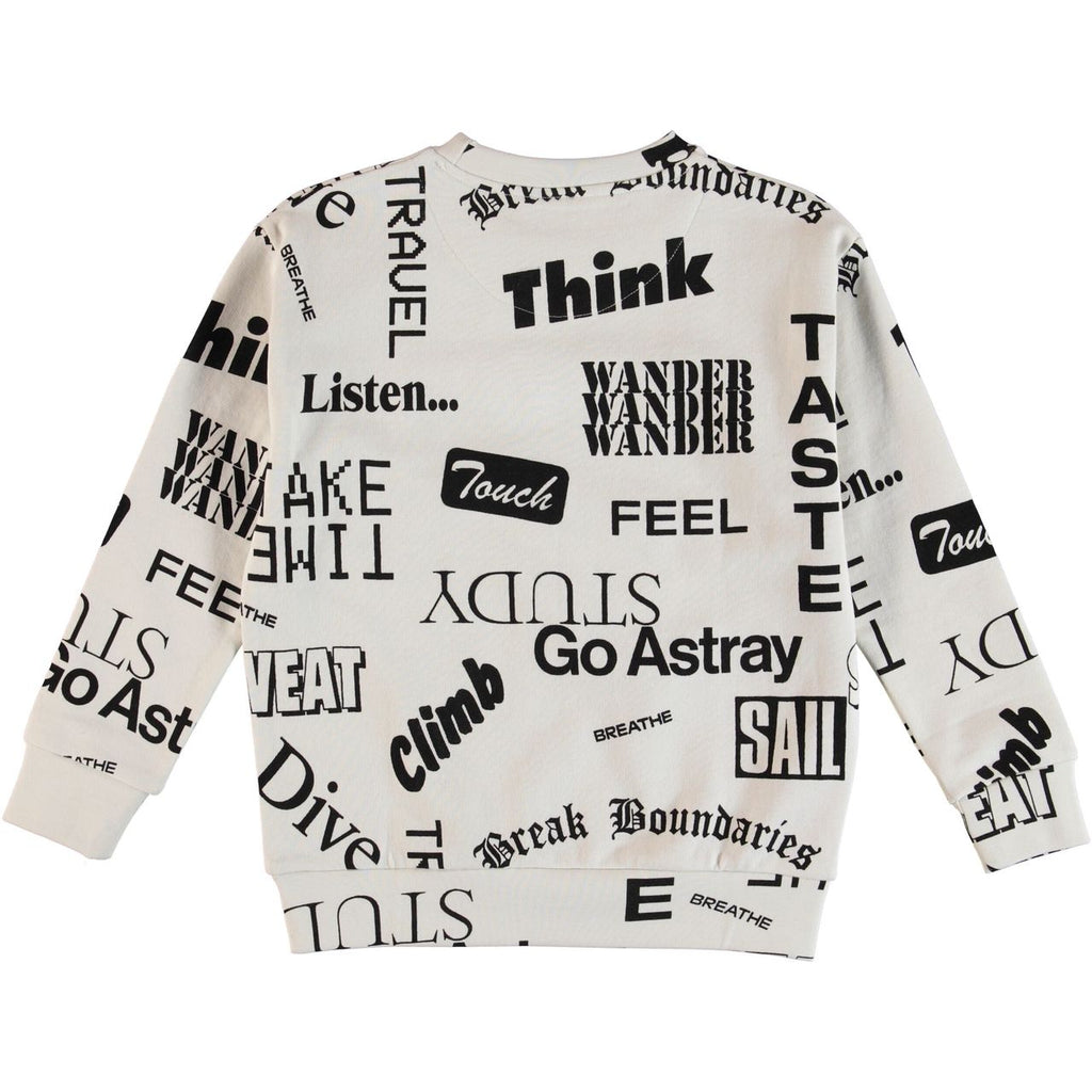MOLO Madsim Sweatshirt - Words